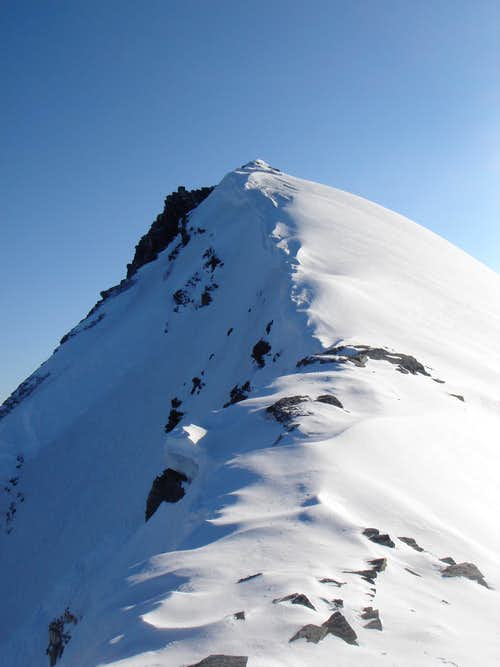 Grand Casse summit ridge
