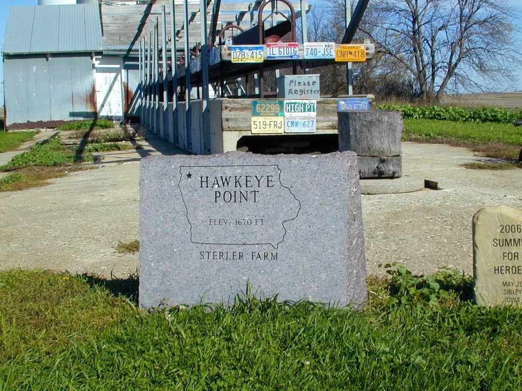 Hawkeye Pt, IA
