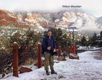 Wilson Mountain near Sedona,...