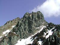 west ridge of Mount Proman