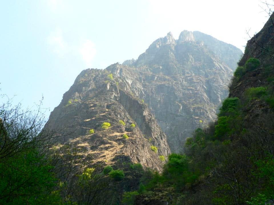 West flank of Mount Lesino
