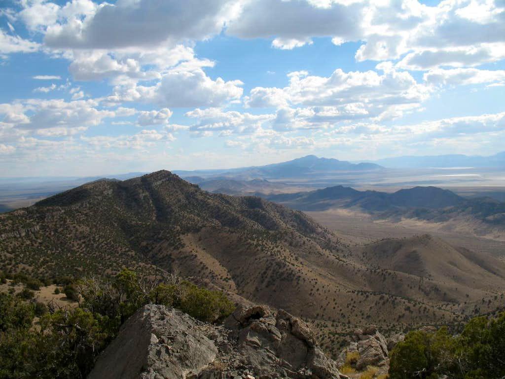 Frisco Peak to the south