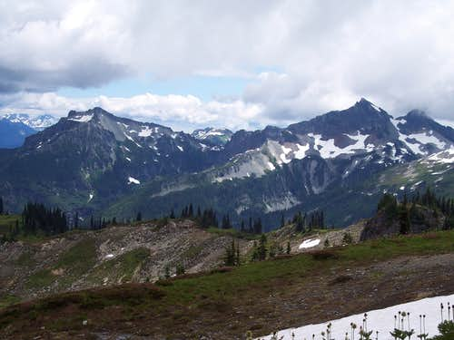 From slopes of Rainier