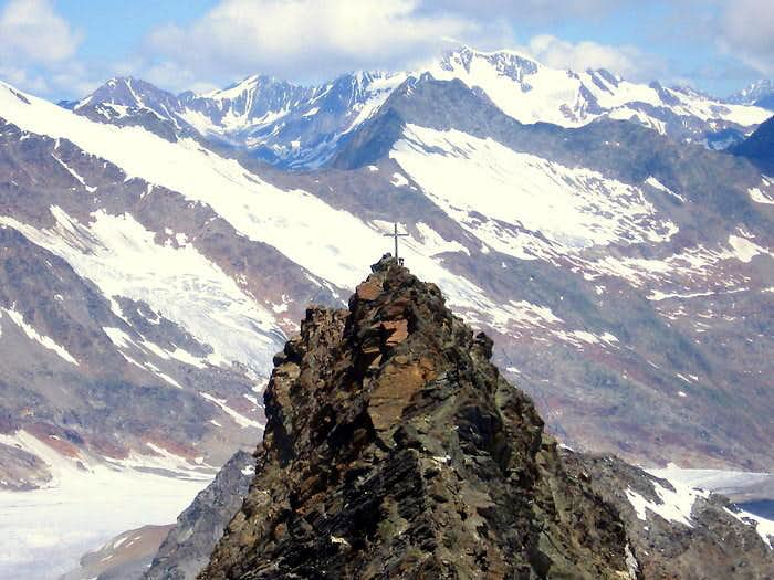 North summit of Hohe Wilde