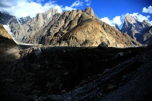 Trango and Paiyu Group Peaks, Karakoram, Pakistan