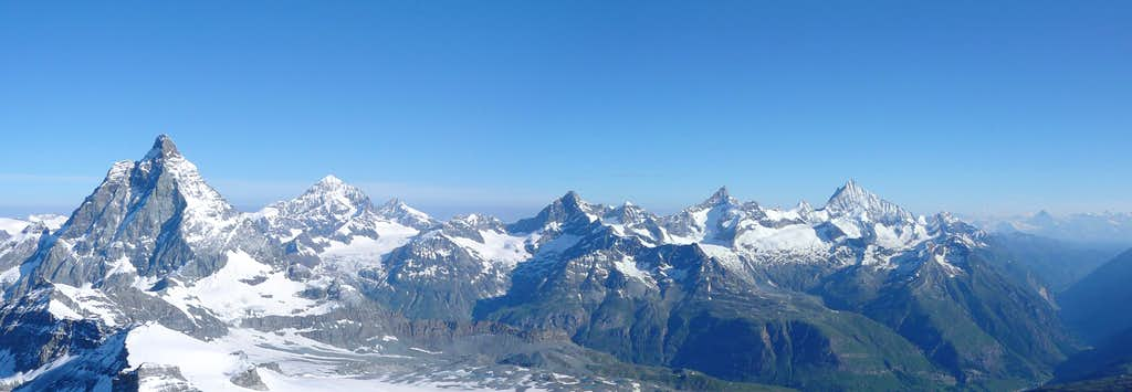 Panorama Klein Matterhorn
