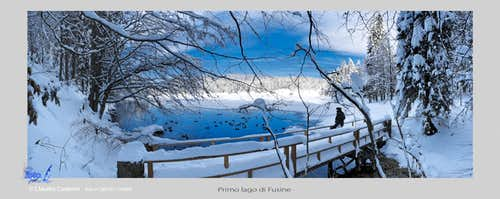 Primo lago di Fusine