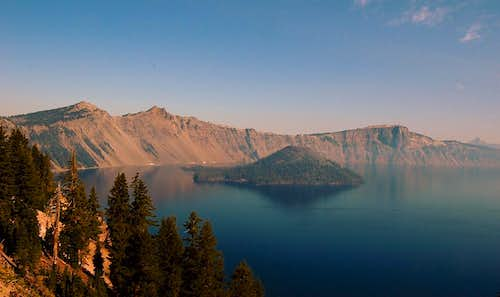 Crater Lake from Garfield Peak