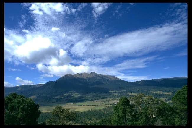A shot of Ajusco from the...