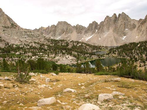 Kearsarge Lakes and Pinnacles