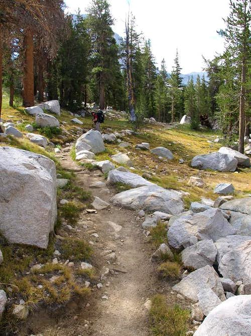 Pretty John Muir Trail