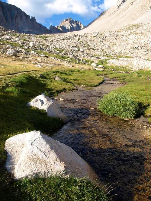 Mt Russell and Whitney Creek