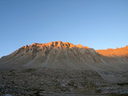 The sun s finishing touch on Mt Whitney