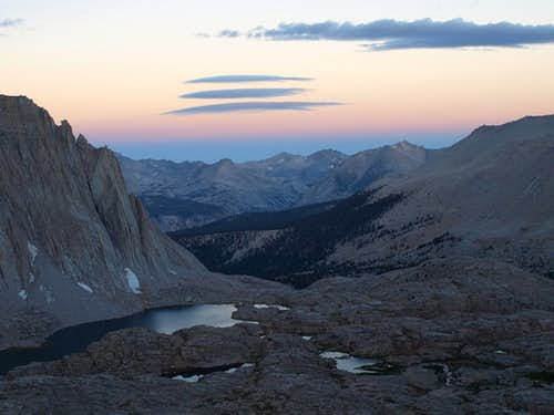 Hitchcock Lakes at dawn