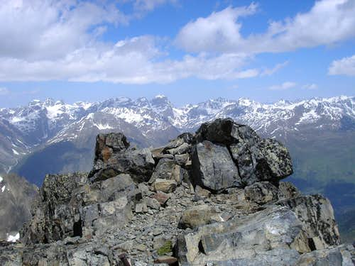Summit of Piz Nuna 3124m