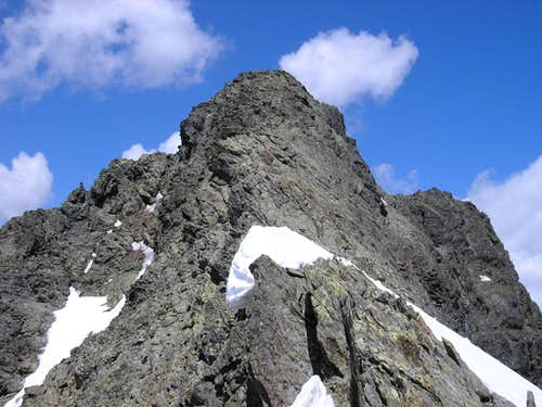 southeast ridge of Piz Nuna 3124m