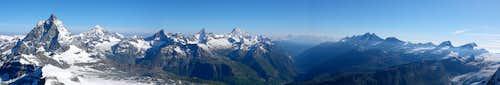 4000m peaks in Wallis