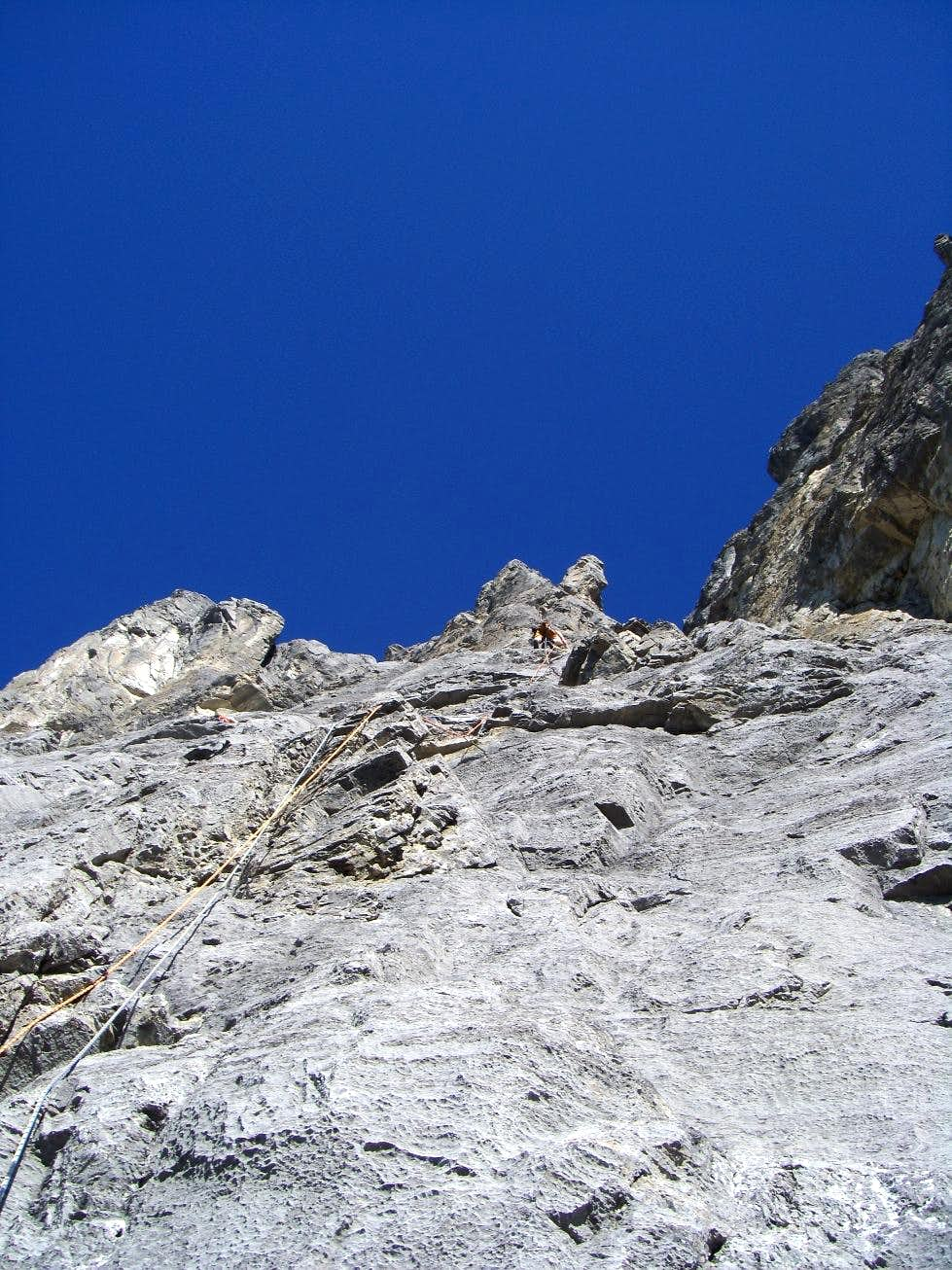 Pony Express, 5.10a, 6 Pitches
