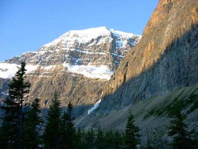 West ridge view of Mt-Edith...