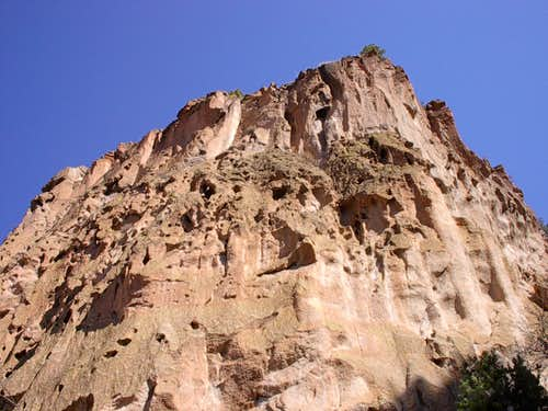 Geology of Frijoles Canyon