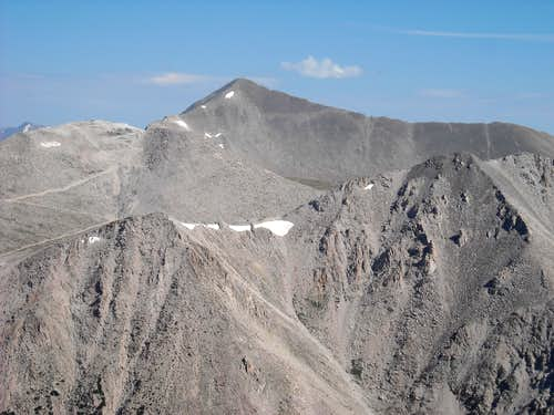 Mt. White & Antero close up