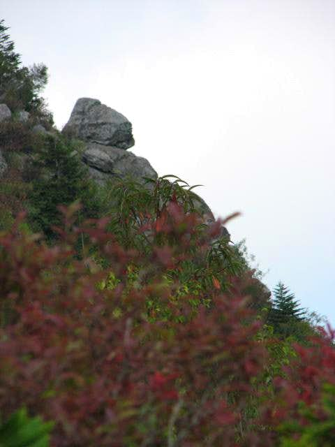 Balanced Rock on Potato Knob