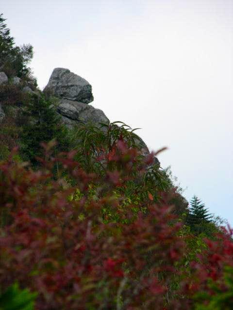 Balanced Rock on Potato Knob