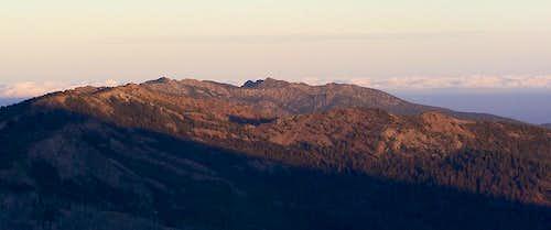 Sunrise on Canyon Mountain