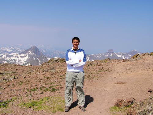 Uncompahgre Summit Shot