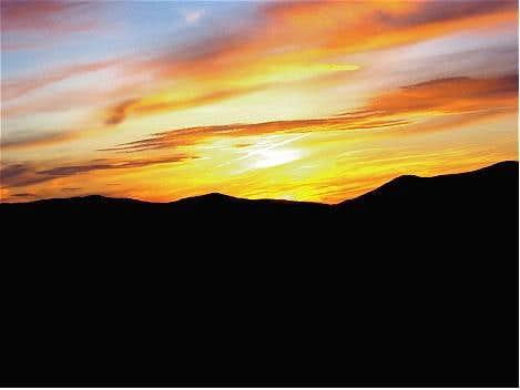 Sunrise on Mt. Washington