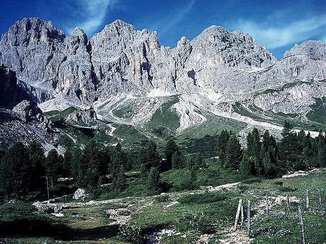 le Coronelle - south ridge of...