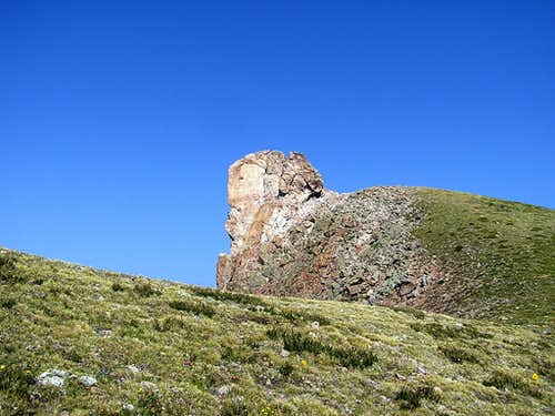 Face in a Rock on Uncompahgre