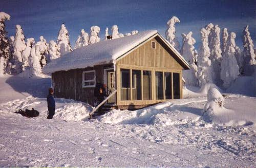 One of the cabins near Mt....