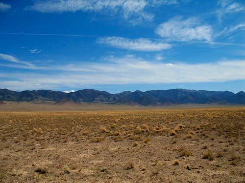 Wah Wah Mountain range (south)