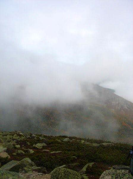 Katahdin in the Rain