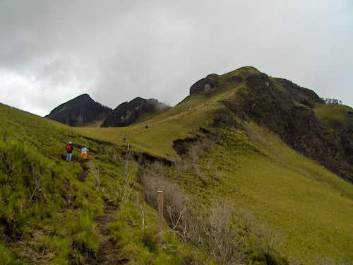 Pasochoa's trail