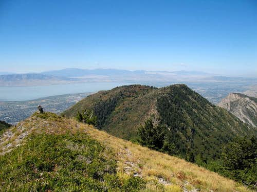 Y Mountain summits