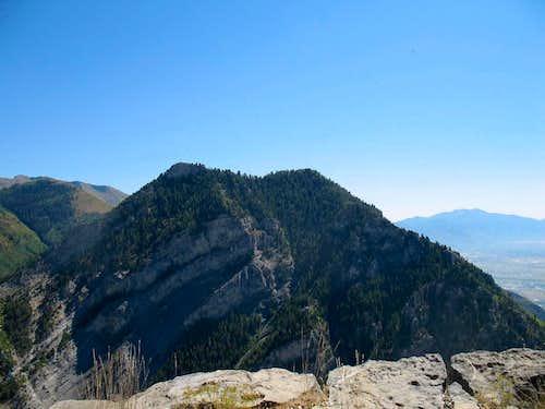 Y Mountain as seen..