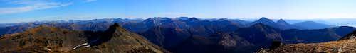 Avalanche Peak Moutain pano