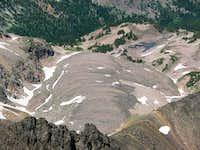 Mt Wilse's Glacier Morraine