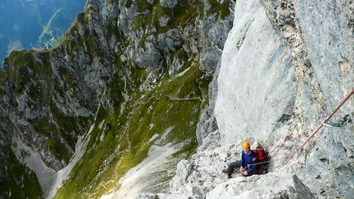 Tannheimer climbing