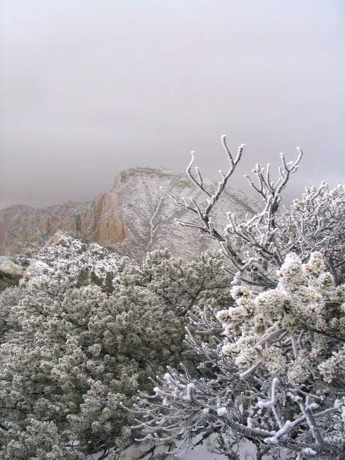 Guadalupe Peak as viewed from...