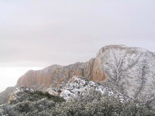 Guadalupe Peak and Shumard( I...