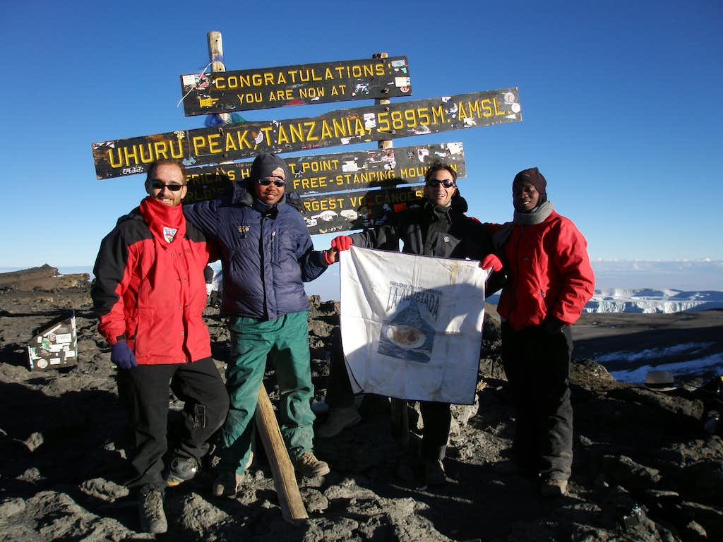 Summit of the Uhuru Peak