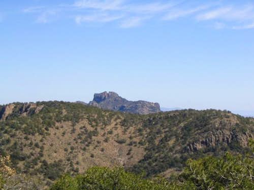 View of Lost Mine Peak from...