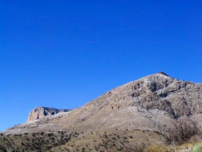 El Capitan and Guadalupe Peak...