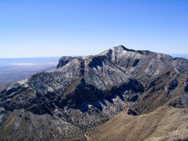 From the Hunter Peak summit,...