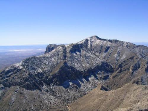 From the Hunter Peak summit,...
