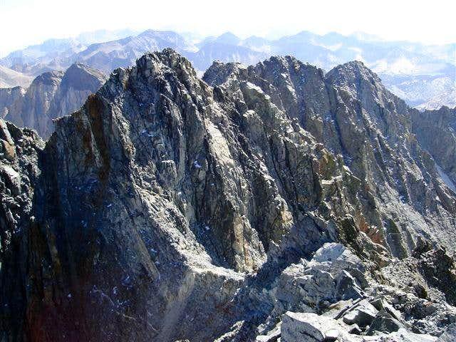 View of S Summit of Split Mtn