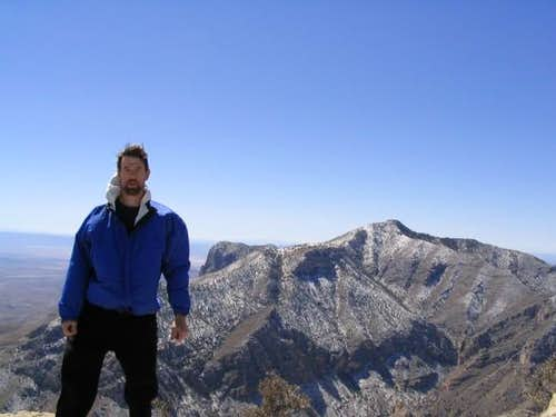 Yours truly on Hunter Peak,...